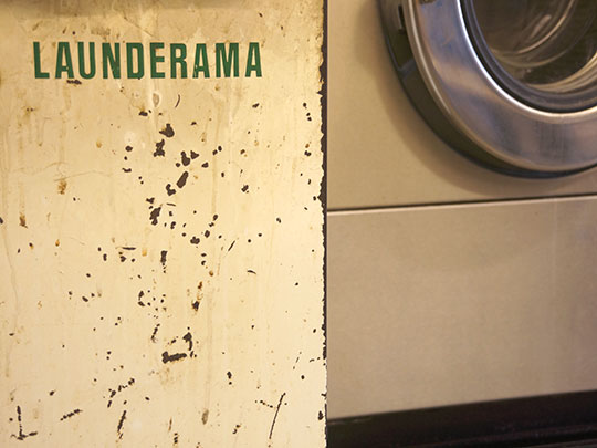 contemporary photography, launderette, abstract, art, 1970s, Sam Freek,