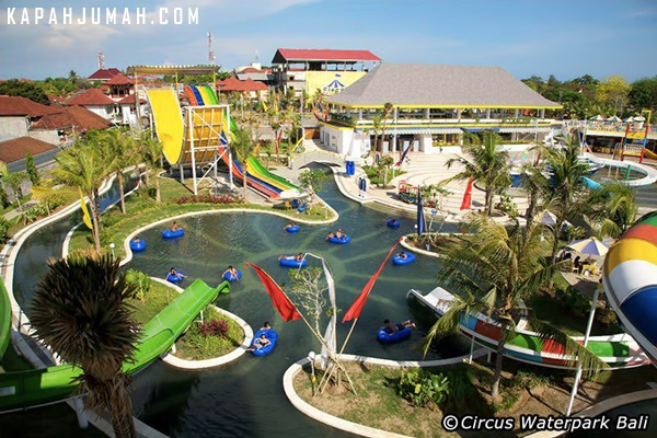 Main Air di Circus Waterpark Bali