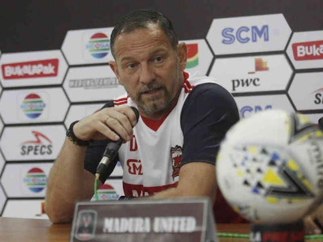 Dejan Antonic Ungkap Kesempatan Madura United Buktikan Kualitas
