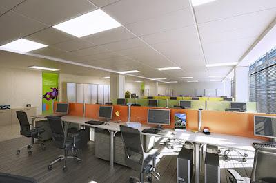 Thiết kế nội thất văn phòng cho các công ty lớn