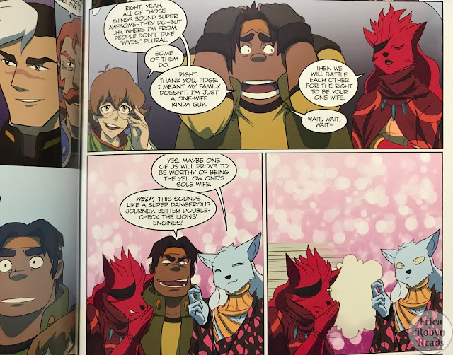 Voltron Legendary Defender Vol. 2: Pilgrimage Hunk scene