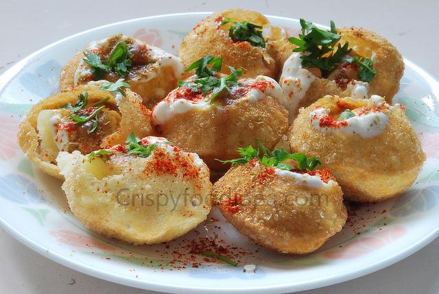 aam dahi puri recipe