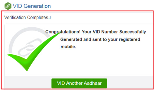 how to generate virtual id of aadhar card