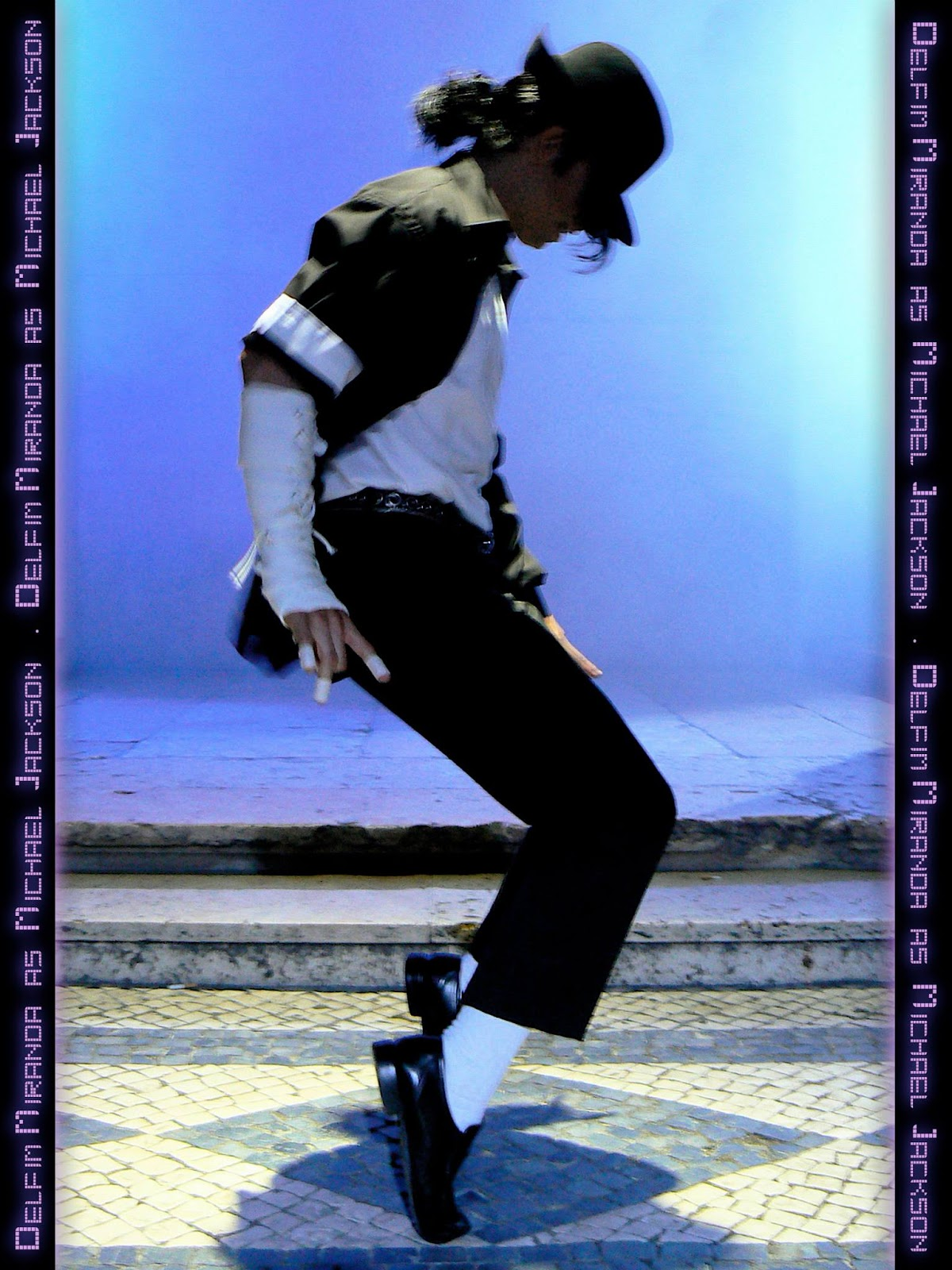 Delfim Miranda - Michael Jackson Tribute - Pose for TV commercial - Imagens de Marca