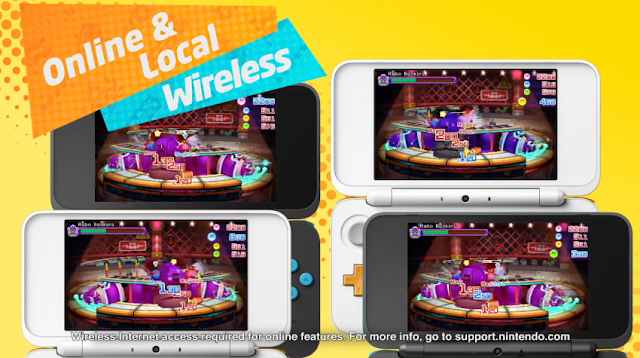 Kirby Battle Royale online and local wireless multiplayer Nintendo 2DS 3DS