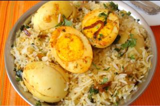 एग बिरयानी रेसिपी - Egg Biryani Recipe - How to Make Egg Biryani at Home