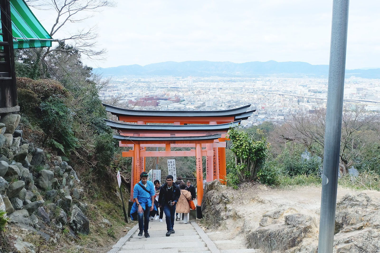 Kyoto View From Point 7 Fushimi Inari | www.bigdreamerblog.com