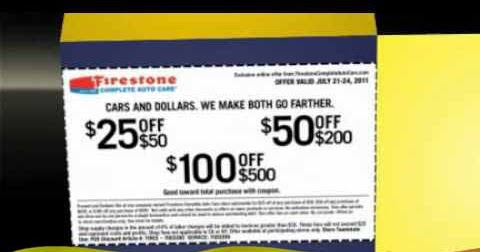 Firestone alignment coupon november 2018