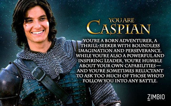 I'm Like Caspian???