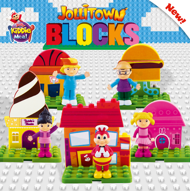 Jollibee Kiddie Meal Jollitown Blocks