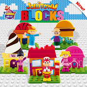 Jollibee Kiddie Meal Jollitown Blocks Make Kids Creative