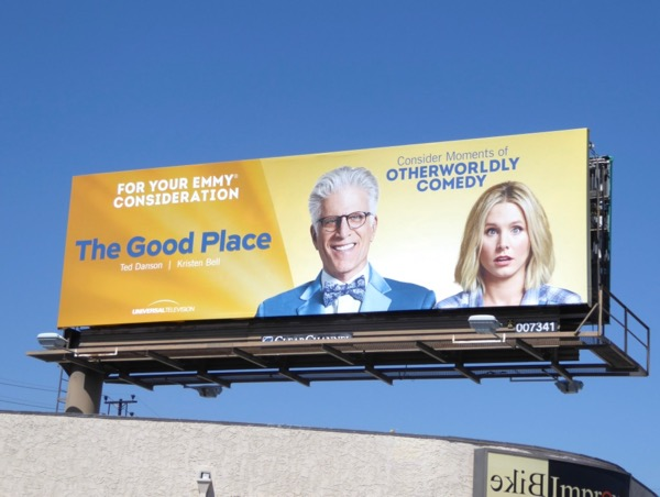 Good Place season 1 Emmy billboard
