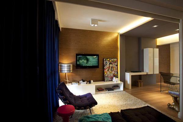 Hogares frescos peque o apartamento de 45 metros for Apartamentos de diseno pequenos