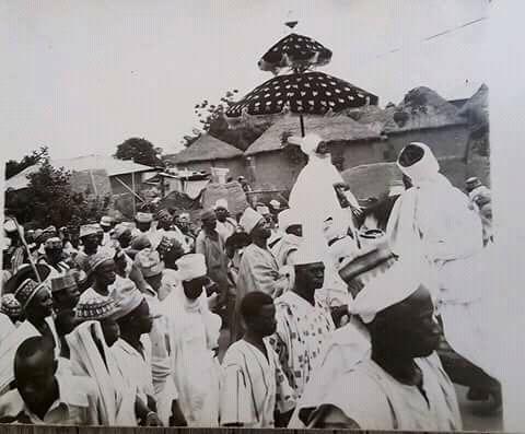 Etsu Umaru Sanda The Late King Of Nupe