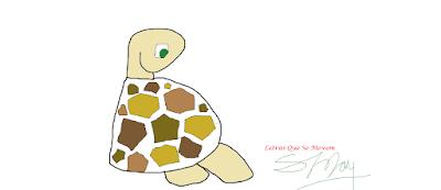 desenho de tartaruga, turtle