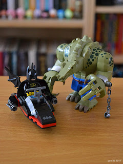 the lego batman movie - killer croc tail-gator: batski and crocski