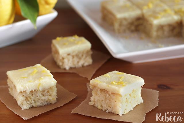 Pastel 'crazy cake' de limón