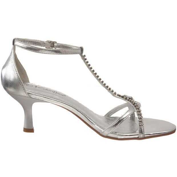 Such Low Heel Considered Silver Prom Shoes