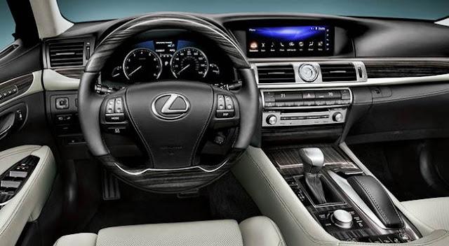 2017 Lexus LS Redesign