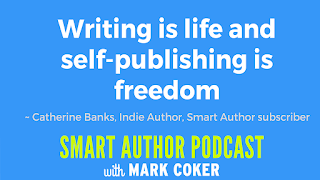 "image reads:  ""Writing is life and self-publishing is freedom"""