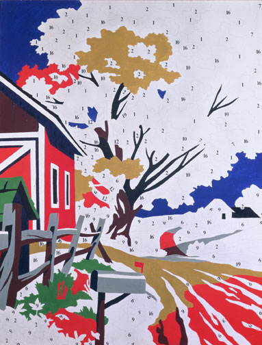 ANDY WARHOL DO IT YOURSELF LANDSCAPE