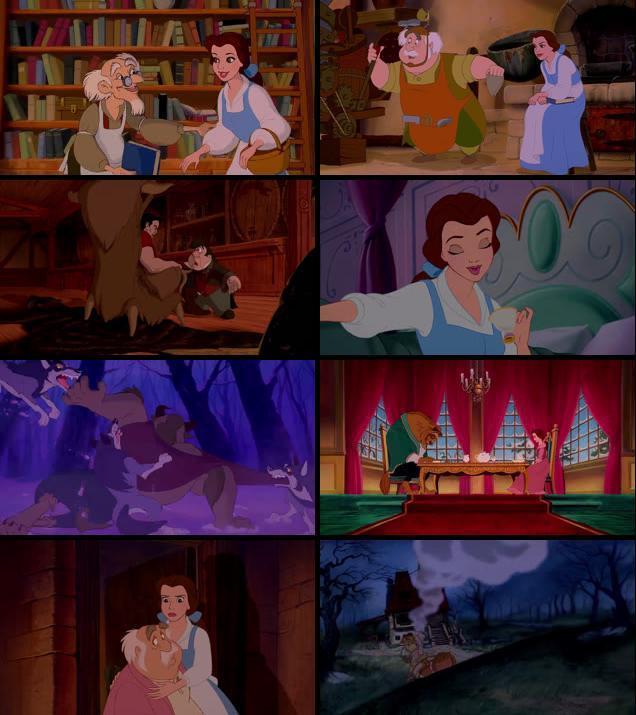 Beauty and the Beast 1991 Dual Audio Hindi 720p BluRay