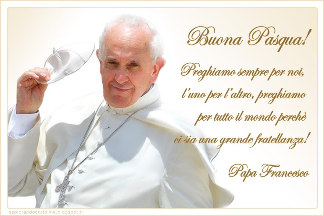 Buona Pasqua! Auguri per la Festività con le Cartoline di Papa Francesco