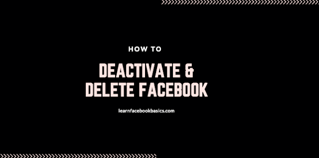 How to Deactivate and Delete Facebook Account Forever - Delete My Fb Profile Right Now