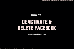 How to Deactivate and Delete Facebook Account Forever - Delete My Fb Profile Right Now DeleteFacebook