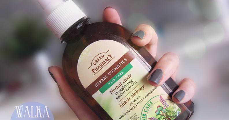 green pharmacy eliksir ziołowy przeciw wypadaniu włosów
