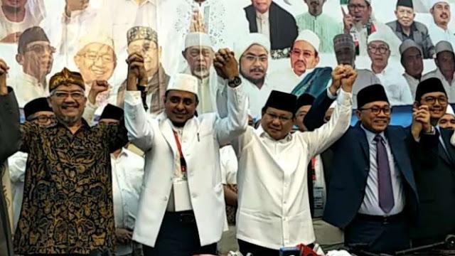 Habib Rizieq Shihab Serukan Ulama Menangkan Prabowo-Sandi