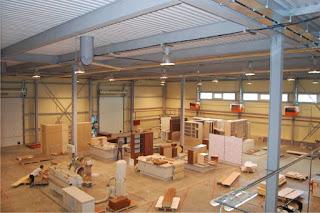 Новая мебельная фабрика в городе Ишиме