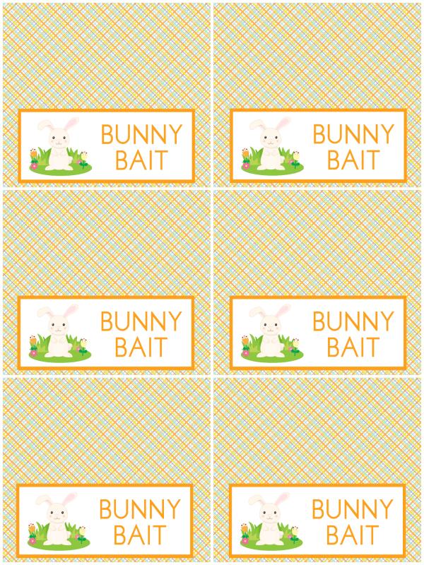 Bunny Bait Printable
