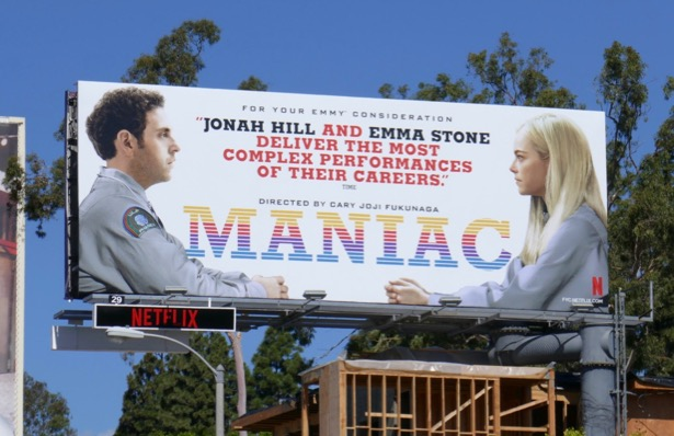 Maniac Emmy FYC billboard