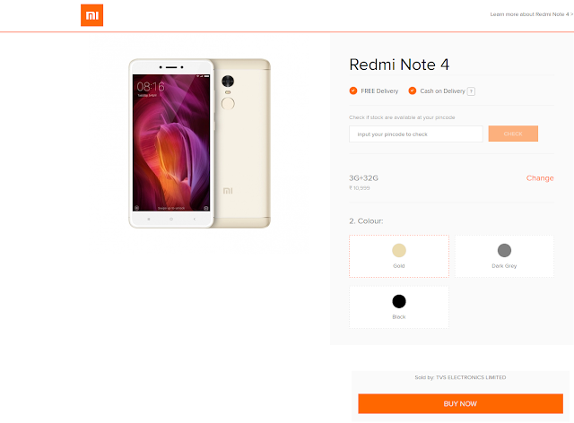 How to book Redmi Note 4 mobile fast trick