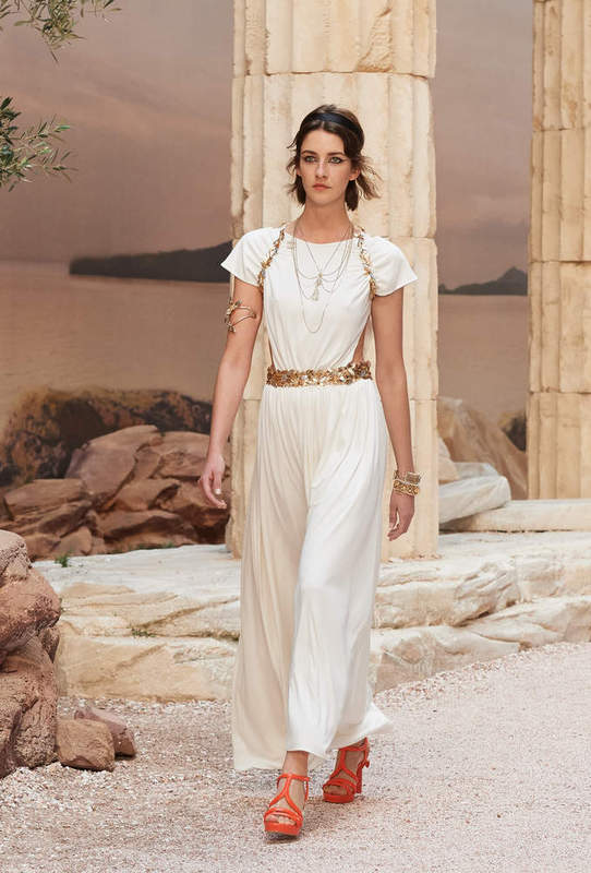 Chanel Cruise 2018 - Greek goddess