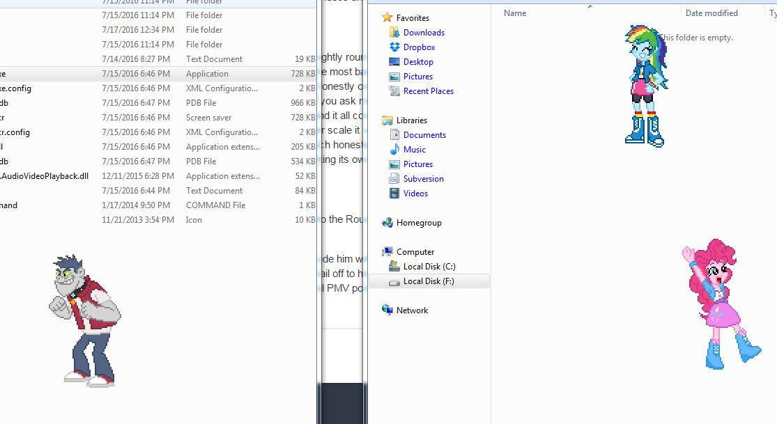 how to add desktop ponies