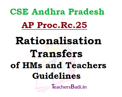 Rationalisation,Transfers,Guidelines