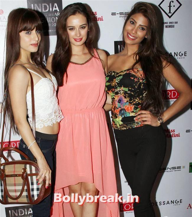 Serah Singh,  Evelyn Sharma and Nicole Faria, Kangana, Evelyn, Pria sizzle at Resortwear Fashion Calendar Launch