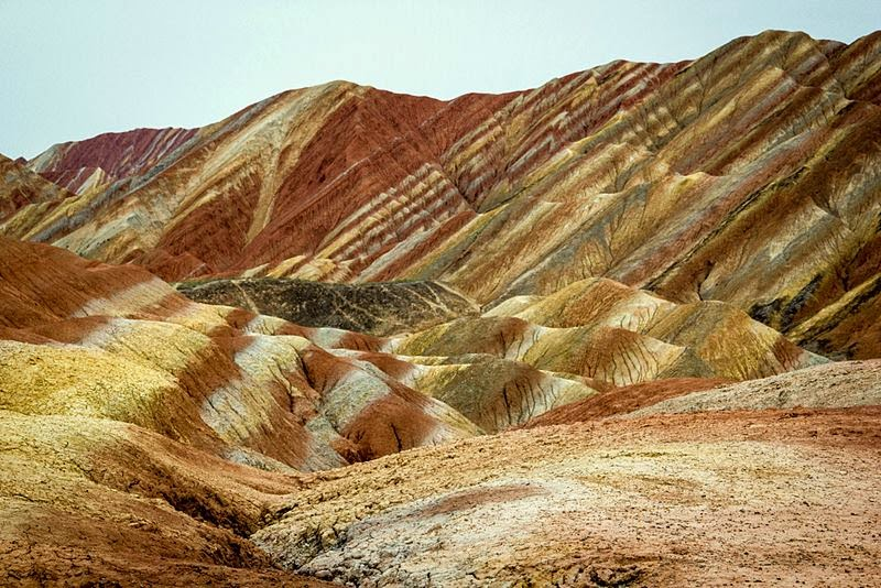 The Zhangye Danxia landform | The Colorful Mountains of China