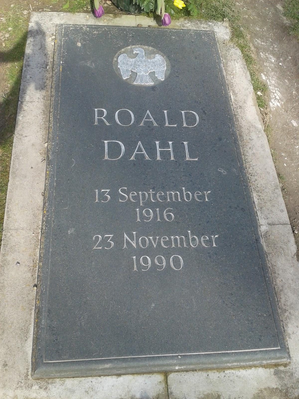 Image result for roald dahl's grave
