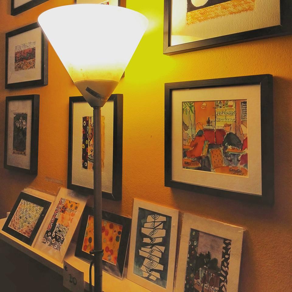 An Artist's Work in Art Gallery I Paris I Travelling Hopper