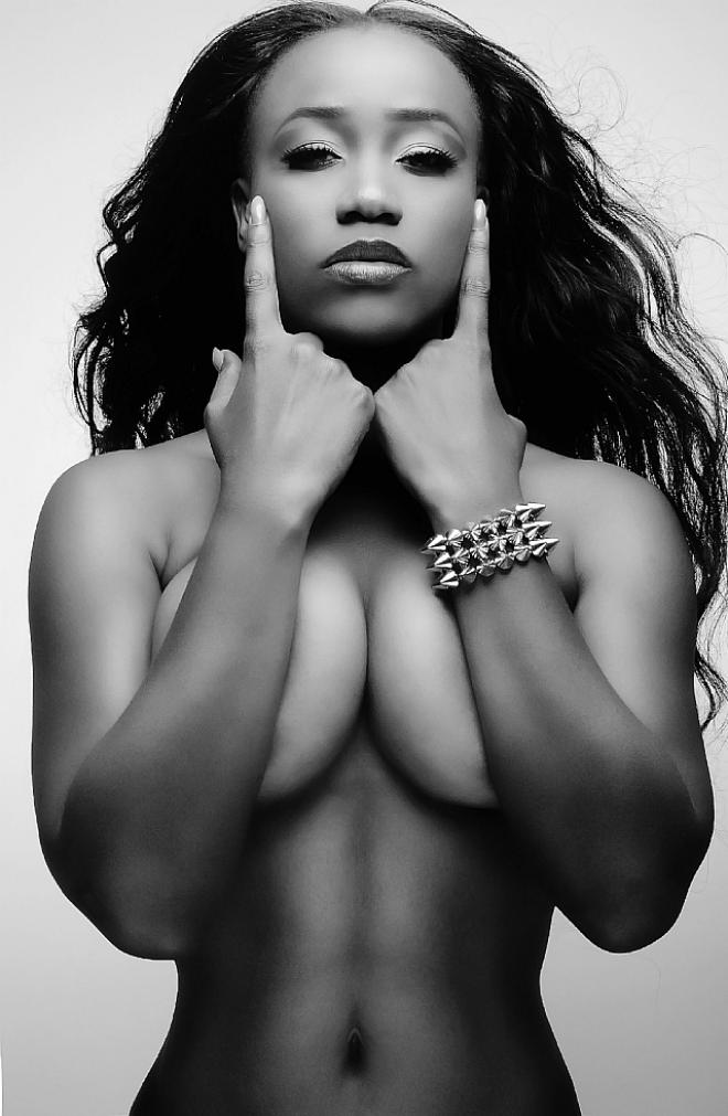 Congratulate, the Sexy nude black female singers