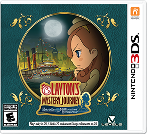 Download 3DS CIAs: LAYTON'S MYSTERY JOURNEY: Katrielle and