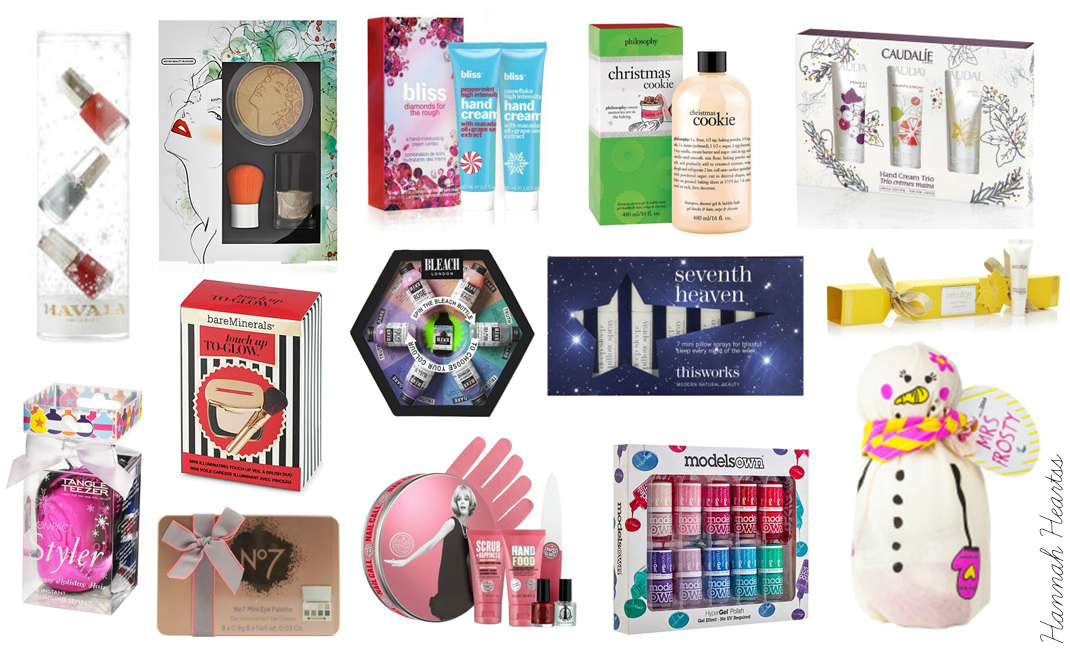 Christmas Beauty Gifts £15 & Under