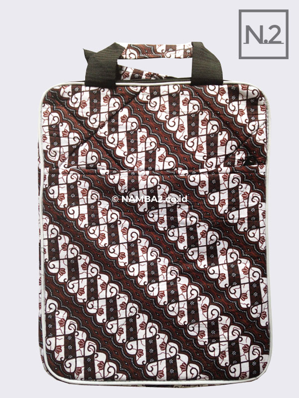 Tas Laptop Batik Potrait Souvenir Seminar