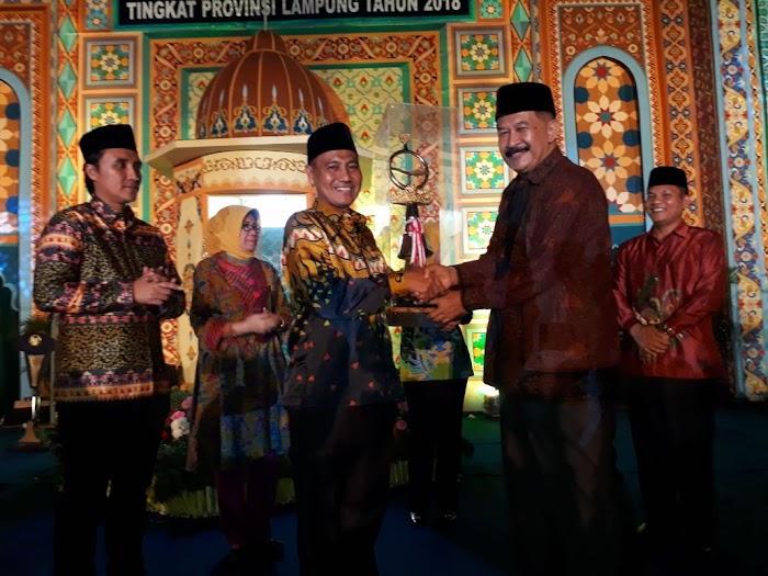 Tanggamus Raih Juara Umum MTQ Tingkat Provinsi Lampung ke 46