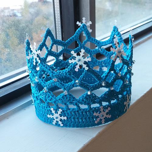 Princess Snowflake - Free Pattern