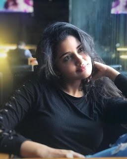 Anupama Parameswaran Pics In Black Dress