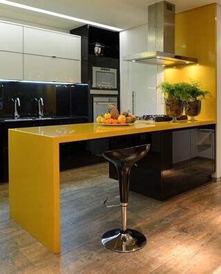 Cozinha laqueada
